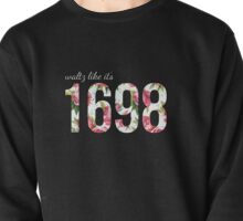 Waltz Like It's 1698 - Pink Floral Pullover