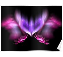 Lilac Firefly Poster