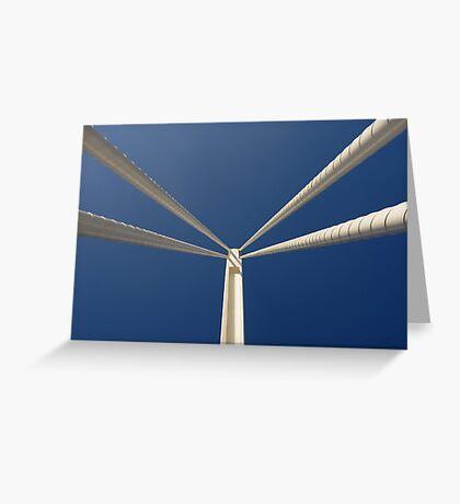New Bridge - Looking Up - CAC Greeting Card