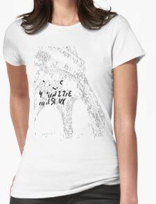La Tour Eiffel Womens Fitted T-Shirt