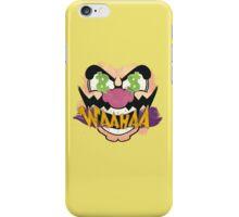 """Wario """"WAAHAA!"""" Digital Paint iPhone Case/Skin"""