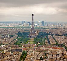 View of the Eiffel Tower by Buckwhite