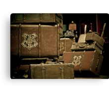 Return To Hogwarts Canvas Print