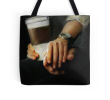 coffee and comfort Tote Bag