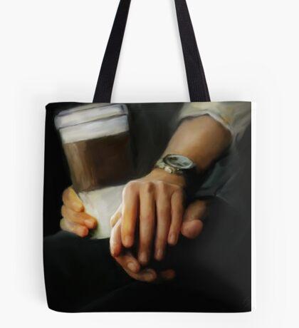 coffee and comfort Tote Bag