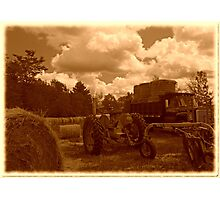 bales on the move Photographic Print