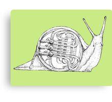 Franny's Snail Canvas Print