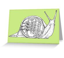Franny's Snail Greeting Card