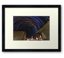 Southern Startrails Framed Print