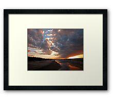 Pinery Park sunset Framed Print