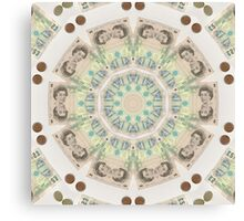 GB CURRENCY Canvas Print