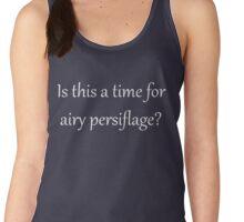 Airy Persiflage - Gilbert & Sullivan - light text Women's Tank Top