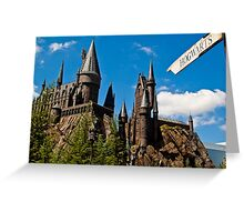 The Wizarding World of Harry Potter: This Way To Hogwarts Greeting Card
