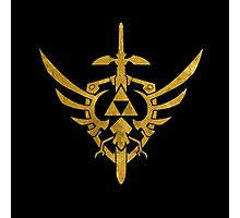 Triforce Gold - Zelda Photographic Print