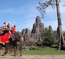 Bayon Temple, Cambodia by oliverjridgill