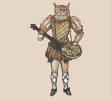 Banjo Cat by felissimha