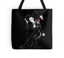 The Black Goth Tote Tote Bag