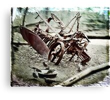 The Old Cultivator Lost in Limbo Canvas Print