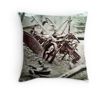 The Old Cultivator Lost in Limbo Throw Pillow