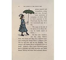 The Queen of Pirate Isle Bret Harte, Edmund Evans, Kate Greenaway 1886 0016 Umbrella Photographic Print