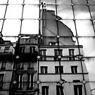 Reflecting in Les Halles by Josephine Pugh