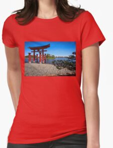 Our Sacred Spaceship Earth Womens Fitted T-Shirt