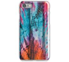 Colorful Eye Catching Tie Dye Fabric iPhone Case/Skin