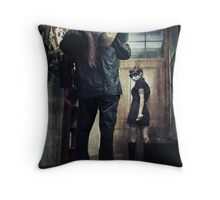 H O S T I L I T Y Throw Pillow