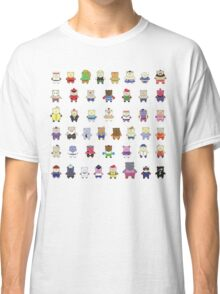 BEARS and FIGHTERS - STREET FIGHTER 4 CHARACTER SELECT Classic T-Shirt
