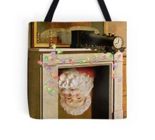 Time Transfixed for Santa Claus Tote Bag