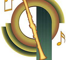 Deco Clarinet by zenguin