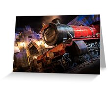 The Night Train Greeting Card