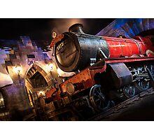 The Night Train Photographic Print