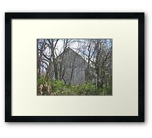 The Old Barn Sits Empty Framed Print
