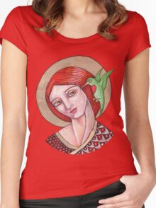 The Messenger Women's Fitted Scoop T-Shirt