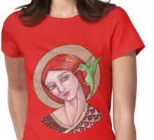 The Messenger Womens Fitted T-Shirt