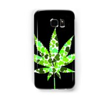 Love and Weed - Cannabis leaf with hearts Samsung Galaxy Case/Skin