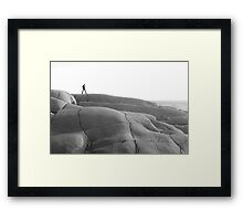 The Rocks at Peggy's Cove,Nova Scotia Framed Print