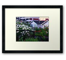 Pea Patch in Belltown Framed Print