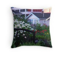 Pea Patch in Belltown Throw Pillow