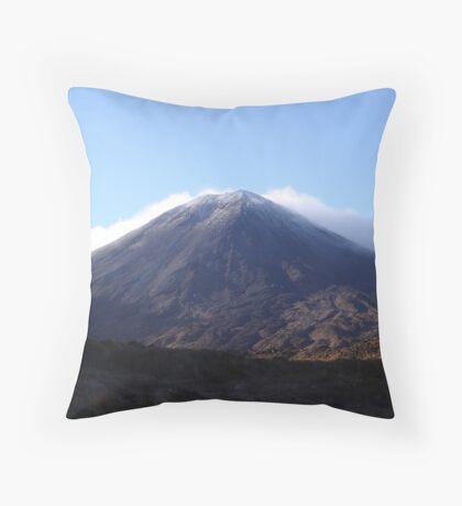 Mt Ngauruhoe (Mt Doom - LOTR) Throw Pillow