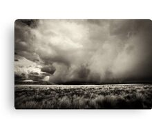 Thunderstorm Is Coming Canvas Print