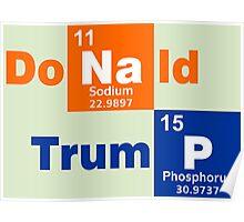Donald Trump 2016 Chemical Poster