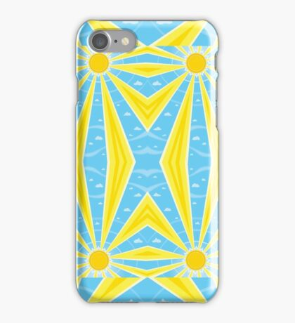 Sun Kaleidoscope iPhone Case/Skin