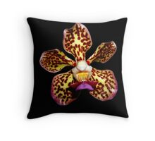 Colors of Nature - Orchid 003a copy Throw Pillow