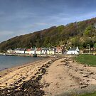 Limekilns Beach by Tom Gomez