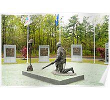 World War II Veterans Memorial Park Poster