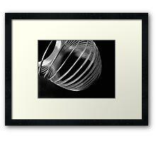 Metal Circles 1 Framed Print
