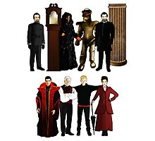 Doctor Who - The Seven Masters Photographic Print
