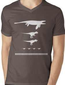 Jurassic World Food Chain light Mens V-Neck T-Shirt